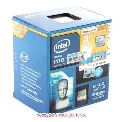 CPU INTEL CORE I3 4150 ( 3.5Ghz / 3M cache 3L )