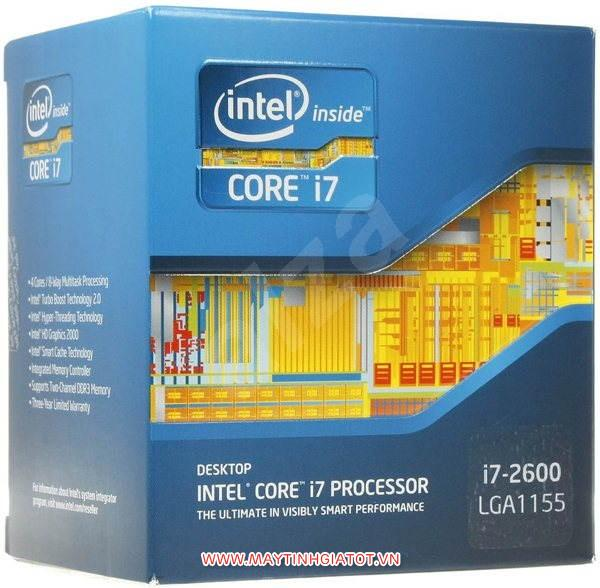CPU INTEL CORE I7 2600 CŨ ( 3.4GHZ / 8M CACHE / 4 CORES - 8 THREADS )