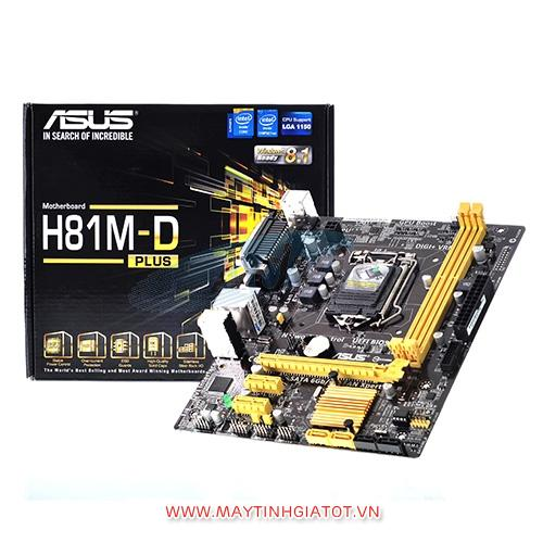 Mainboard CŨ ASUS H81M-D