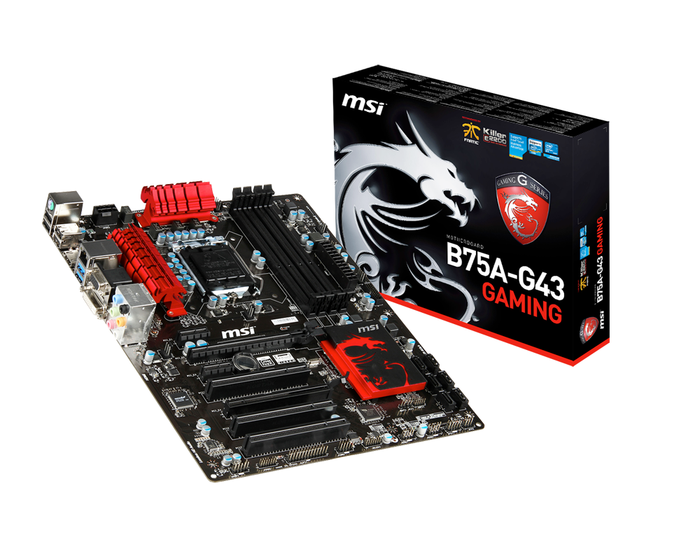 MAINBOAR MSI B75A-G43 GAMING