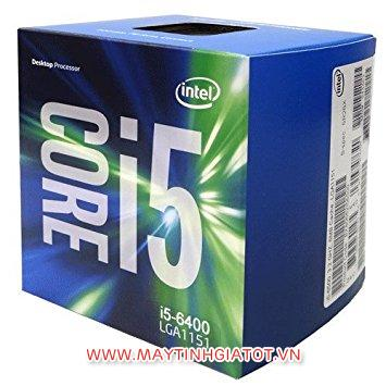 CPU INTEL CORE I5 6400 CŨ (2.7GHZ / UPTO 3.3GHZ) 6M CACHE