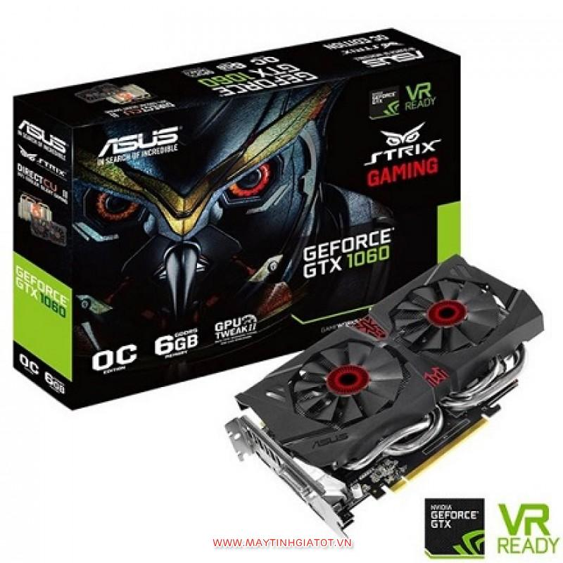 VGA ASUS GTX 1060 STRIX GAMING OC 6GB