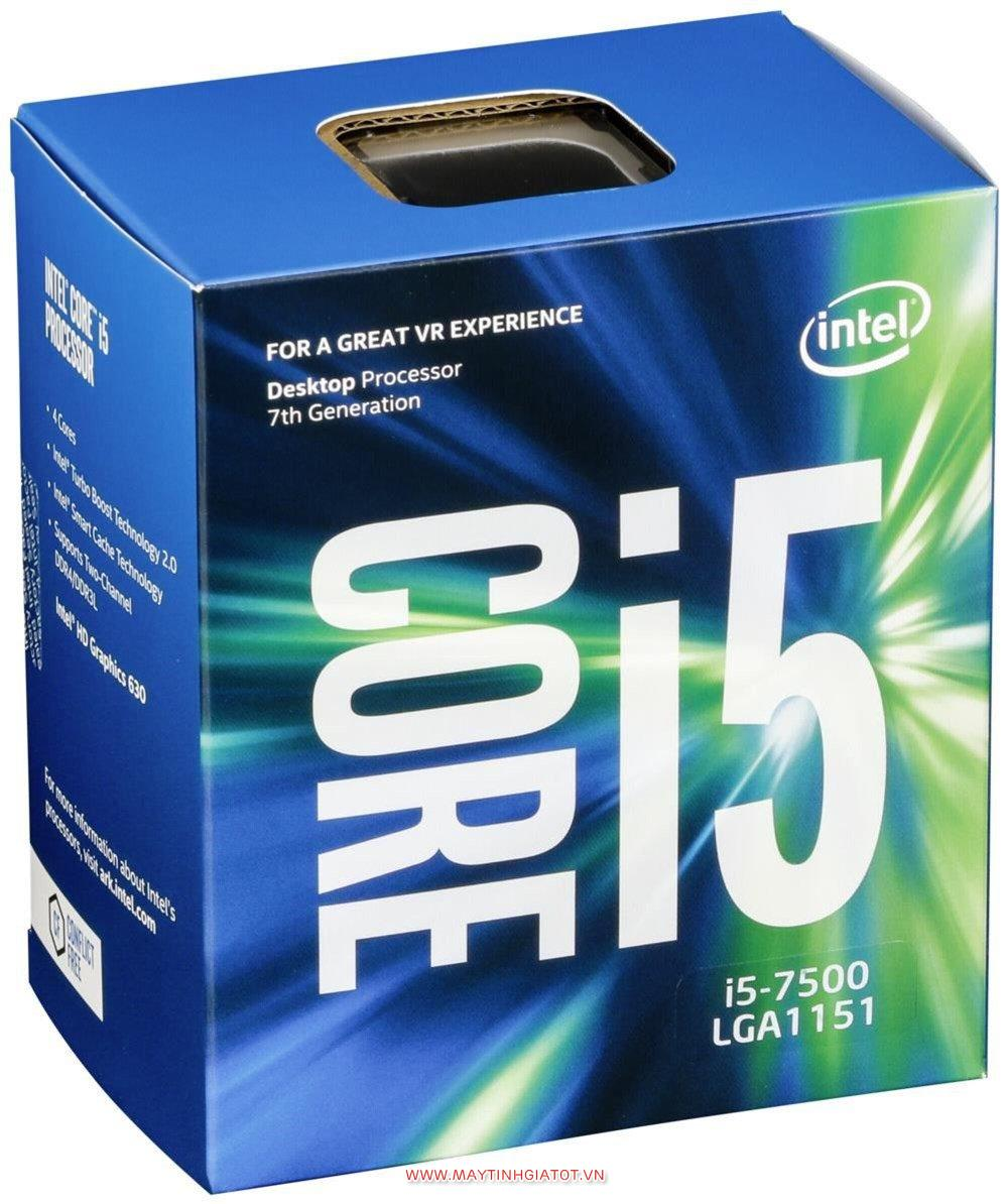 CPU INTEL CORE I5 7500 CŨ ( 3.4Ghz turbo 3.8Ghz / 6M cache 3L )