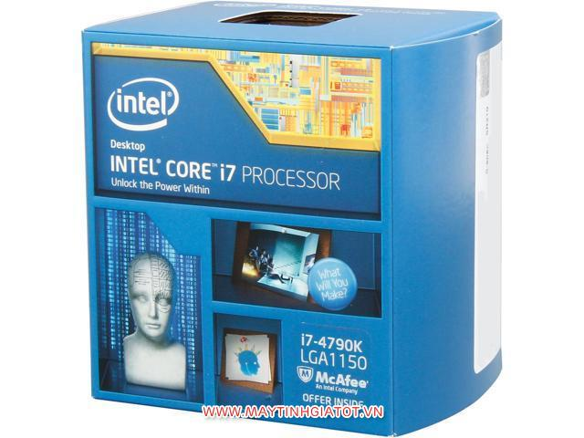 CPU INTEL CORE I7 4790K CŨ ( 4.0Ghz turbo 4.4Ghz / 8M cache 3L )