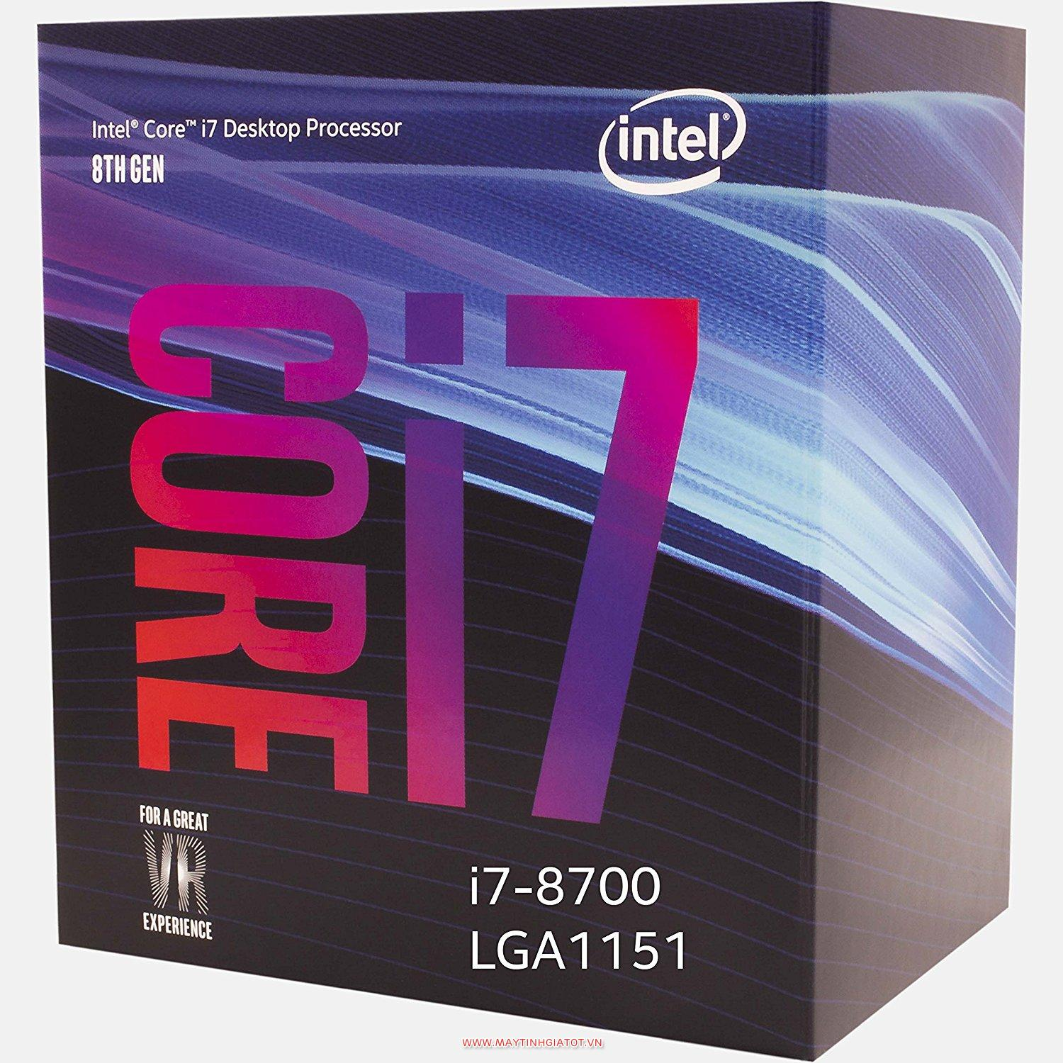 CPU INTEL CORE I7 8700