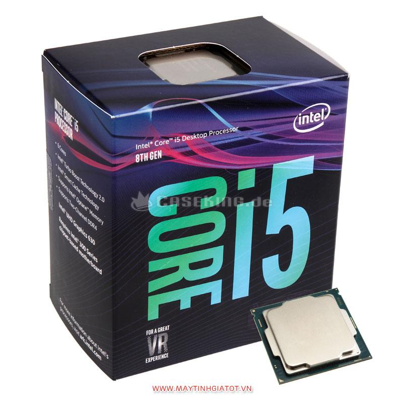 CPU INTEL Core i5 8400 CŨ (2.8Ghz Turbo Up to 4Ghz / 9MB / 6 Cores, 6 Threads)