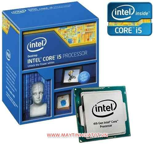 CPU INTEL CORE I5 4570 ( 3.2Ghz TURBO 3.6Ghz / 6M cache 3L )