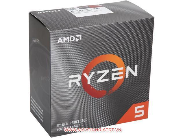 CPU AMD RYZEN 5 3600 ( 3.6Ghz turbo 4.2Ghz / 3MB (L2) + 32MB (L3)  ) SOCKET AM4
