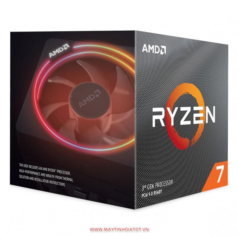 CPU AMD RYZEN 7 3700X ( 3.6 GHz TURBO 4.4GHz Max Boost) / 32MB Cache / 8 cores / 16 threads / Socket AM4