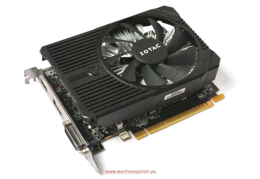 VGA ZOTAC GeForce GTX 1050 MINI BẢN 2GB - 128 BIT - DDR5