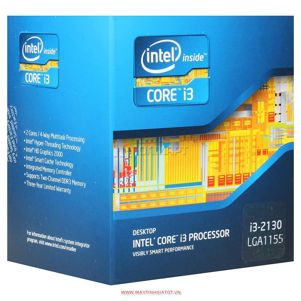 CPU Intel Core I3 2130 ( 3.4Ghz / 3M cache 3L )