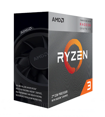 CPU AMD Ryzen 3 3200G (3.6GHz turbo up to 4.0 GHz, 4 nhân 4 luồng, 4MB Cache, Radeon Vega 8, 65W) - Socket AM4
