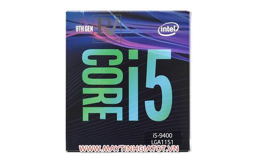 CPU CORE I5 9400 cũ (2.9GHz turbo up to 4.1GHz, 6 nhân 6 luồng, 9MB Cache)