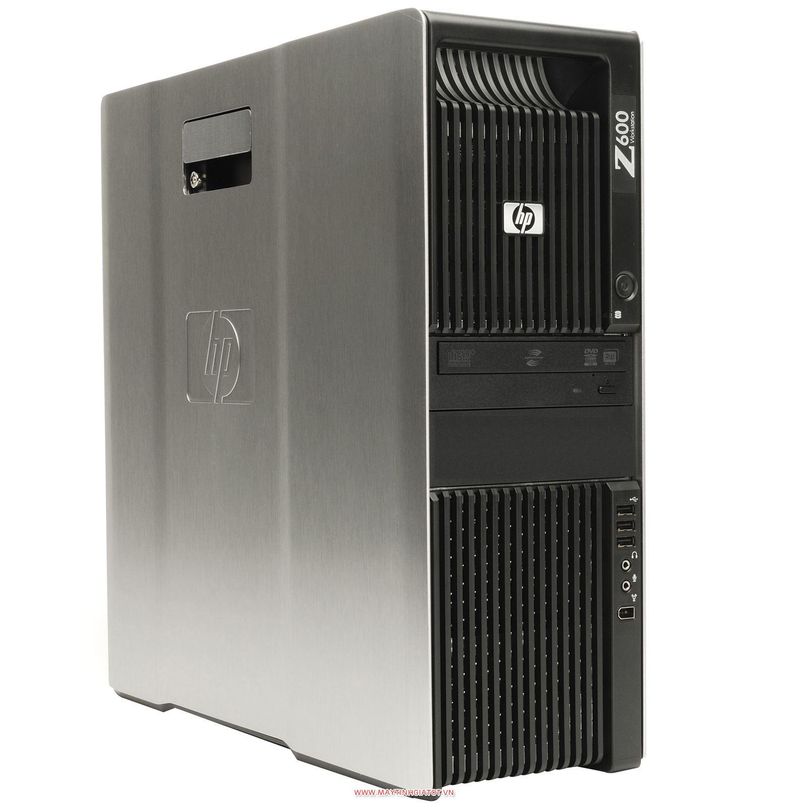CẤU HÌNH WOKSTATION HP Z600 DUAL XEON X5650 (24 THREADS), RAM 32GB / QUADRO 600