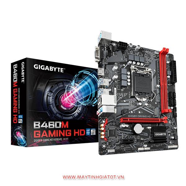 Mainboard Gigabyte B460M-Gaming HD (Chipset Intel B460/ Socket LGA1200/ VGA onboard)