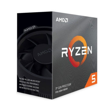 CPU AMD Ryzen 5 3400G (3.7GHz turbo 4.2GHz, 4 nhân 8 luồng, 6MB Cache)- Socket AMD AM4