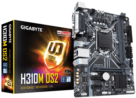 MAINBOARD GIGABYTE H310M-DS2 MỚI