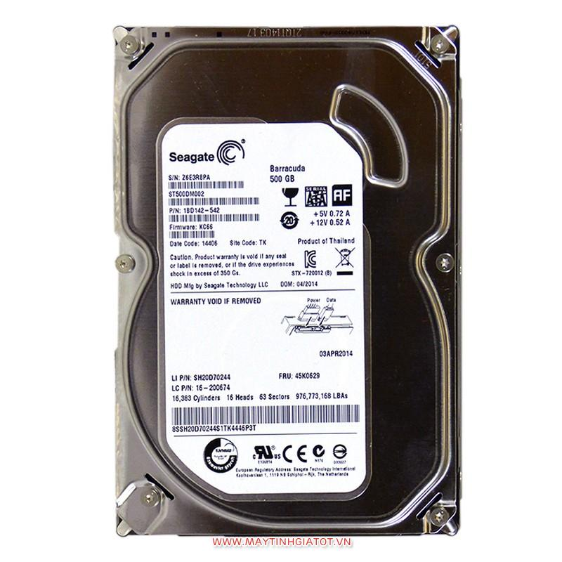HDD SEAGATE 500GB SATA3 - 7200RPM