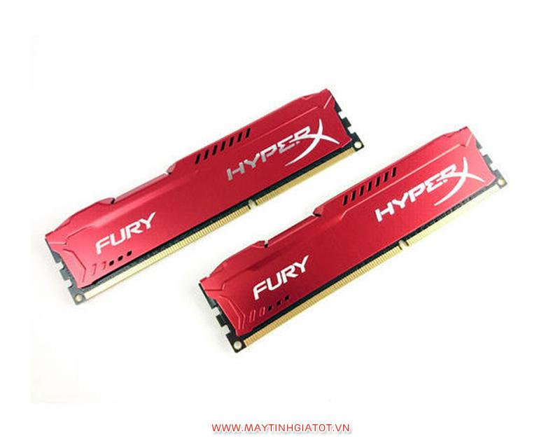 RAM KINGTON FURY TẢN ĐỎ 8GB BUS 1600