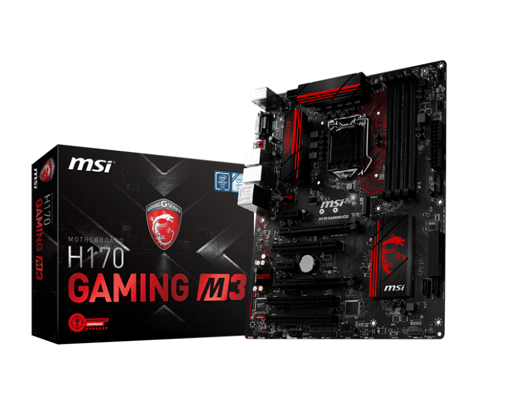 MAINBOARD MSI H170 GAMING M3 CŨ