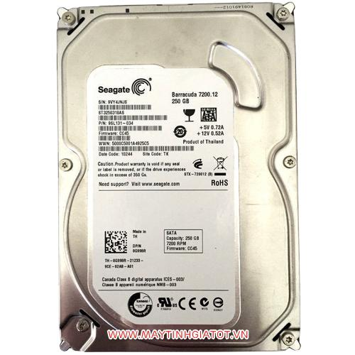 HDD SEAGATE 250GB SATA3 - 7200RPM
