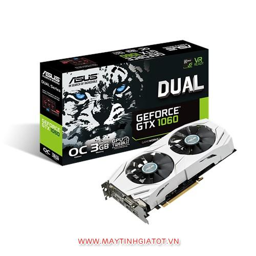 VGA ASUS GTX1060 DUAL FAN 3GB / 192 BIT / DDR5