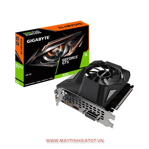 VGA GIGABYTE GEFORCE GTX1650 N1650IX-4GD-1 FAN ( 4GB / 128BIT / DDR5 )